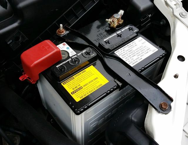 baterie auta