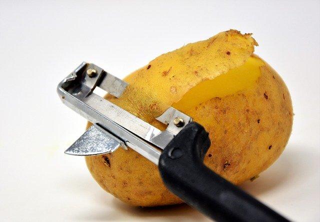 brambory se škrabkou