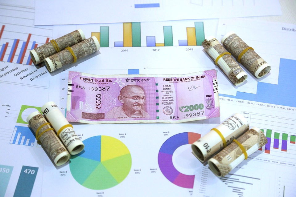 indické peníze